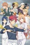 Кулинарные поединки Сомы 4 / Повар-боец Сома 4  / Shokugeki no Souma: Shin no Sara (4 сезон) (2019)