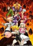 Семь смертных грехов: Яростное правосудие / Nanatsu no Taizai: Fundo no Shinpan (4 сезон) (2021)